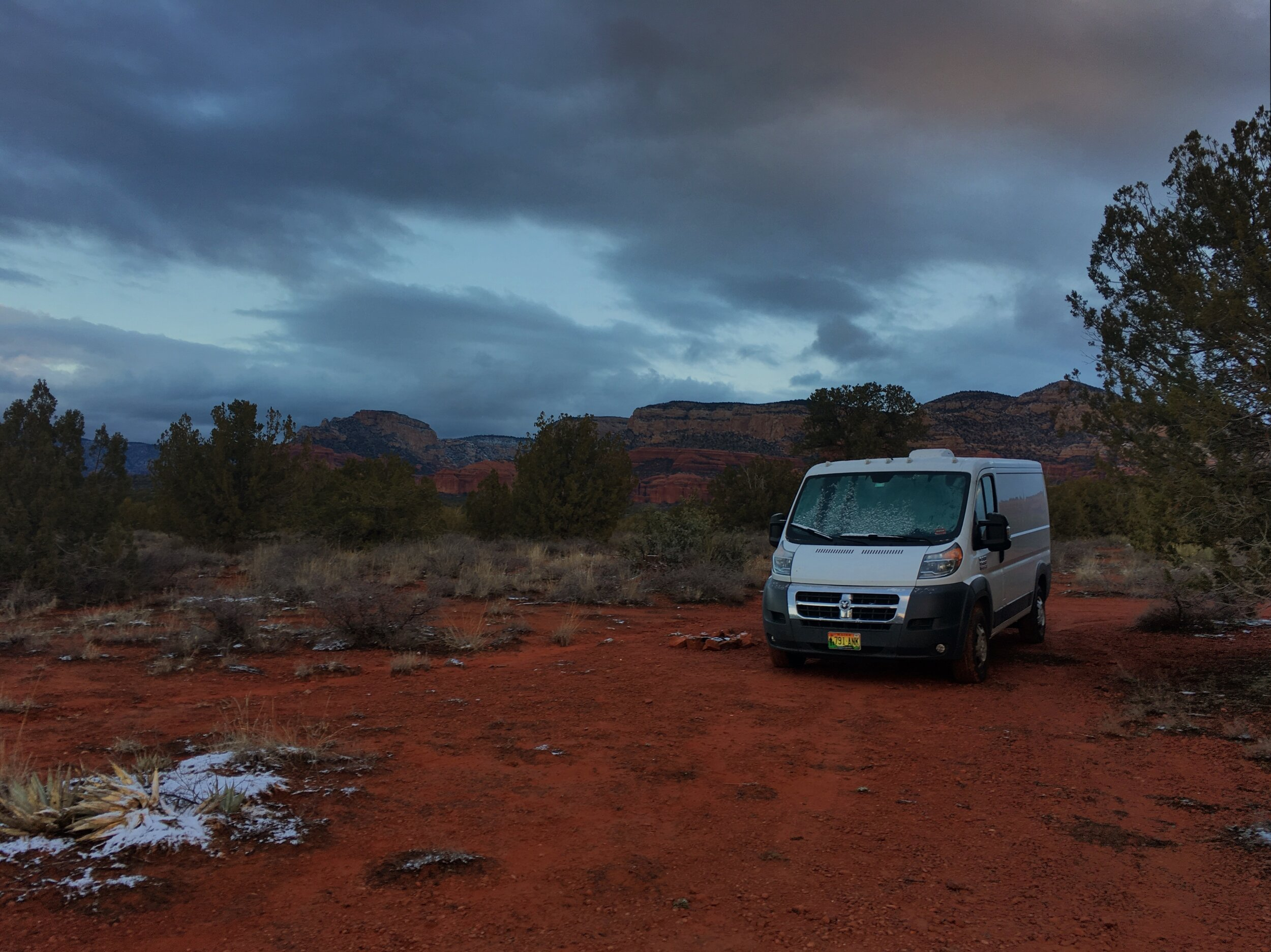 Traveling America By Van With A Bird, A Dog, And A Modified Dodge Ram